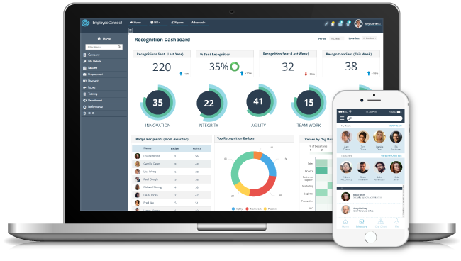 EmployeeConnect HR Software for Workforce Management